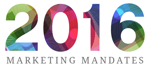 Image - Marketing Mandates for 2016