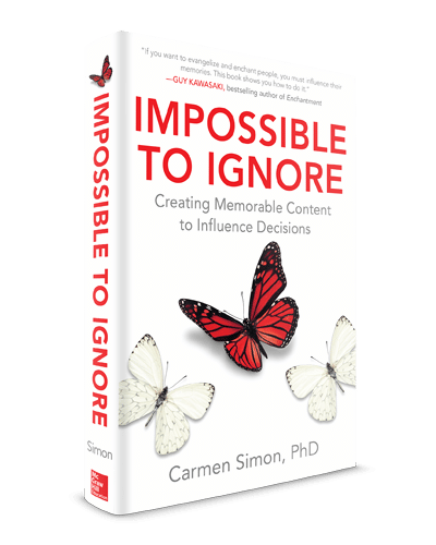 Impossible to ignore - Carmen Simon