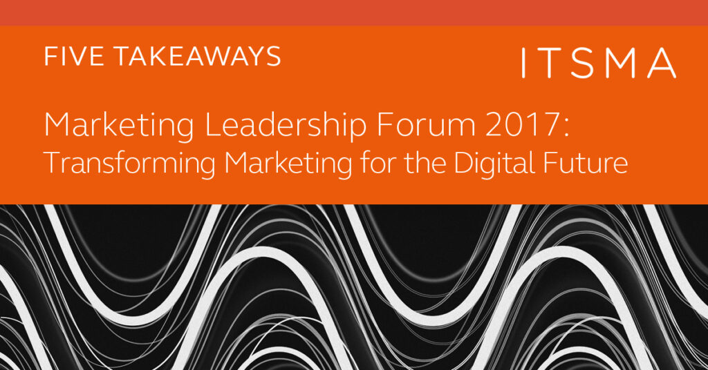 Transforming Marketing for the Digital Future