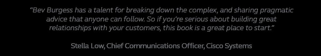 Executive engagement strategies book endorsement, Cisco